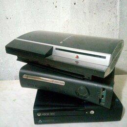 Игровые приставки - 2 приставки xbox 360 и 1 ps3, 0