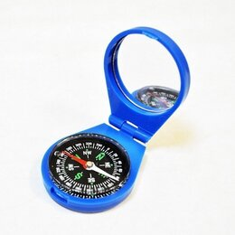 Компасы - Компас жидкостный Kromatech 45 мм, с крышкой и зеркалом (синий), 0