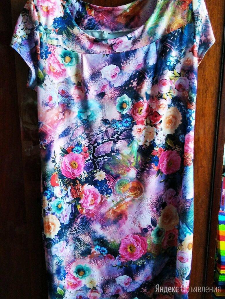 Платье летнее бу размер 56 по цене 600₽ - Платья, фото 0