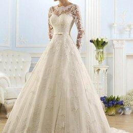 Платья - Свадебное платье прекрасное новое, 0