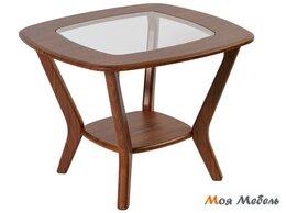 Столы и столики - Стол журнальный Мельбурн в цвете Орех, 0