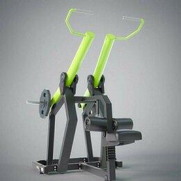 Тренажеры со встроенными и свободными весами - Верхняя тяга | Рычажная , 0