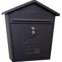 Почтовые ящики - Почтовый ящик уличный Вн21 черный матовый , 0