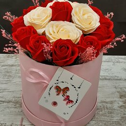 Цветы, букеты, композиции - Букет из мыльных роз, цветы из мыла, 0