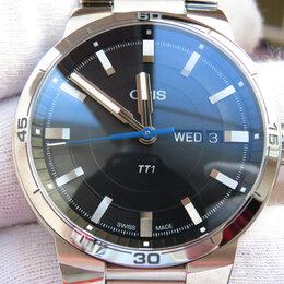 Наручные часы - Часы Oris (Орис) TT1 Day Date. Новые, 0