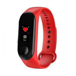 Спортивная защита - Часы спорт браслет EZRA SW04 Красный, 0