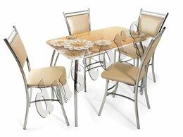 Столы и столики - Стол Лилия с фотопечатью со стульями или без них…, 0