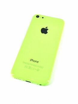 Корпусные детали - Корпус для Apple iPhone 5C зеленый, 0