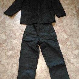 Одежда и аксессуары - Костюм сварщика спилок цельный 56 размер, 0