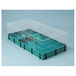 Клетки, вольеры, будки  - Midwest клетка Guinea Habitat Plus 120х60х36h см…, 0