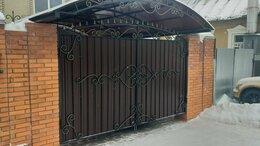 Заборы и ворота - Ворота калитки с элементами ковки, 0