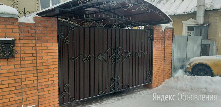 Ворота калитки с элементами ковки по цене 1000₽ - Заборы, ворота и элементы, фото 0