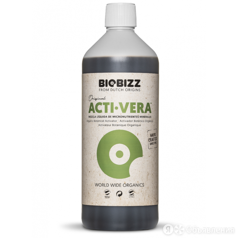 Иммуностимулятор Acti-Vera BioBizz 1000 ml по цене 2500₽ - Комнатные растения, фото 0