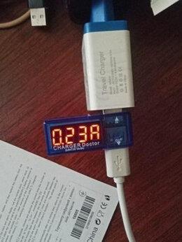 Зарядные устройства и адаптеры - USB Тестер НОВЫЙ (тестер напряжения и тока), 0
