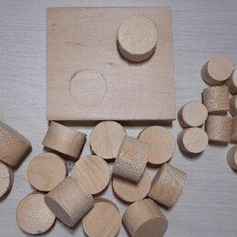 Пиломатериалы - Чёпики деревянные, заглушки, пробки (чопики), 0