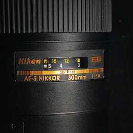 Объективы - Nikon AF-S 300 mm f/ 4 D IF-ED // 440 ., 0
