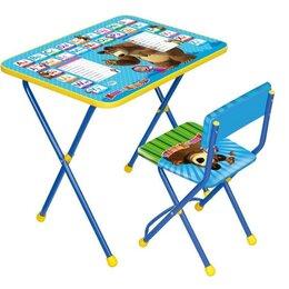 Столы и столики - Набор мебели Маша и медведь - Английская азбука,…, 0
