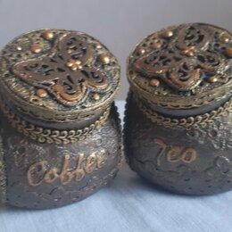Ёмкости для хранения - Набор для кофе и чая ручной работы, 0