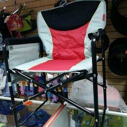 Походная мебель - стул кресло складное с подлокотниками до 120 кг для туризма рыбалки , 0