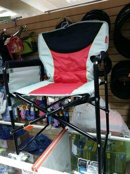 Походная мебель - стул кресло складное с подлокотниками до 120 кг…, 0
