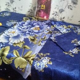 Постельное белье - Белье шелковое постельное 3Д, 0