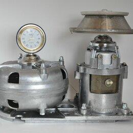 Настольные лампы и светильники - Индустриальный светильник с часами, 0