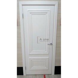 Межкомнатные двери - Белая дверь эмаль Престиж 1/2 глухая Ульяновские…, 0