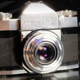 Пленочные фотоаппараты - Zeiss Ikon Contaflex I 45mm f2.8 Tessa // 0861 📷📷📷📷, 0