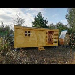 Готовые строения - Бытовка 6м с дровником , 0
