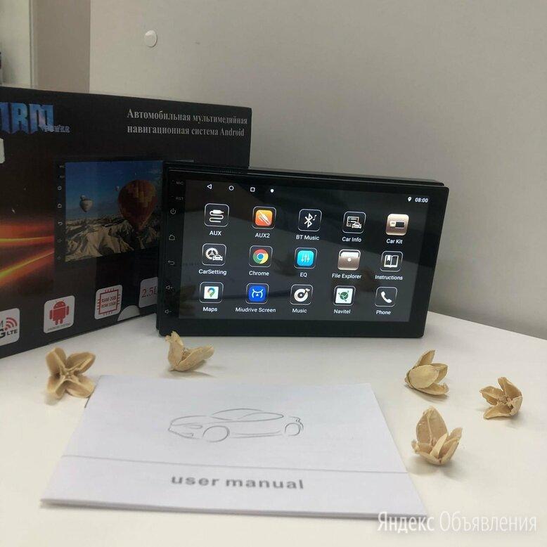 Магнитола 2DIN андроид (Новая) по цене 5699₽ - Автоэлектроника и комплектующие, фото 0