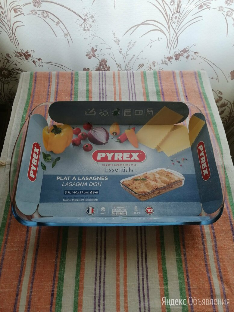 """Форма для запекания """"PYREX"""". 40см*27см*6см Франция по цене 1000₽ - Посуда для выпечки и запекания, фото 0"""