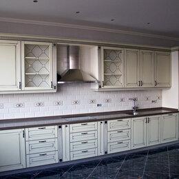Мебель для кухни - Прямая кухня в стиле кантри из массива Данти, 0