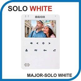 Домофоны - Видеодомофон MAJOR SOLO WHITE., 0