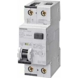 Защитная автоматика - Дифференциальный автомат 1P+N С40А 300мА Siemens, 0