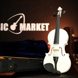 Смычковые инструменты - Скрипка 4/4 с комплектом Fabio SF3900 WH, 0
