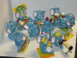 Киндер-сюрприз -  Слоны на пляже 1995 полная серия, 0