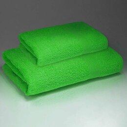 Постельное белье - Простыня махровая (180х220) плотность 380 гр. Салатовый, 0