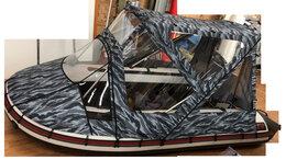 Аксессуары  - Тент-трансформер Комби ходовой для лодок пвх от…, 0