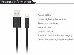 Зарядные устройства и адаптеры - кабель для iphone Usams, 0