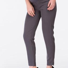 Брюки - Серые брюки для будущих мам, 0