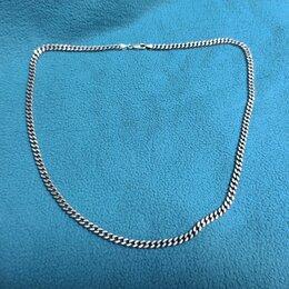 Цепи - Цепь серебряная, 63 см, 925 проба,37 гр. , 0