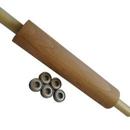 Скалки - Скалка для теста из бука на подшипниках., 0