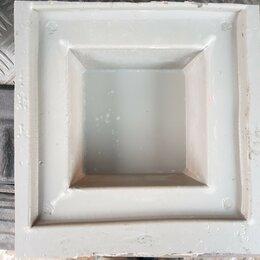Тротуарная плитка, бордюр - Форма для изготовления брусчатки. Малый квадрат.   Есть в количестве., 0