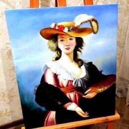 Картины, постеры, гобелены, панно - Юная художница, 50х60см, Картина маслом на холсте, художник, 0