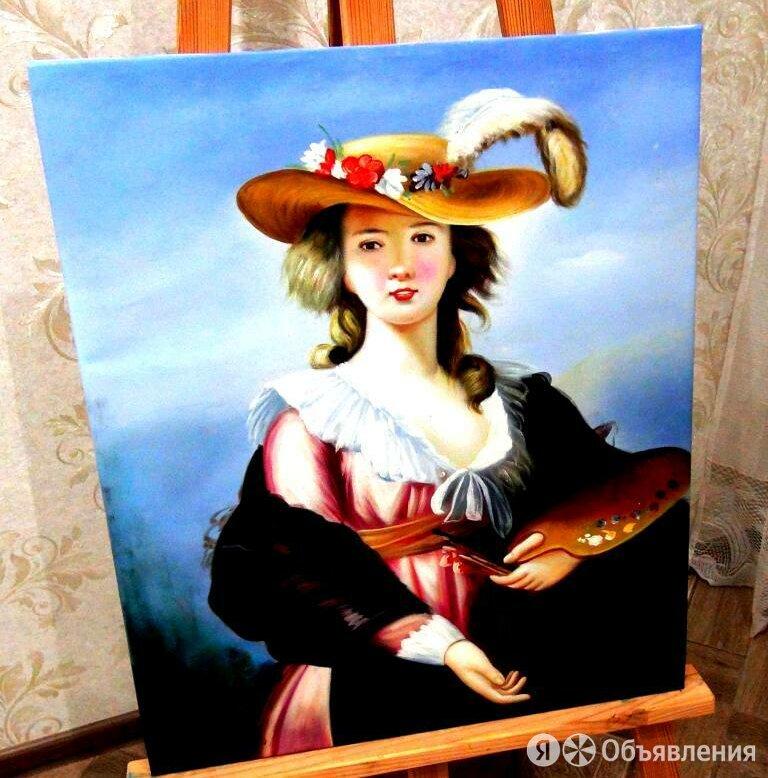 Юная художница, 50х60см, Картина маслом на холсте, художник по цене 6990₽ - Картины, постеры, гобелены, панно, фото 0