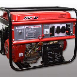 Электрогенераторы - Генератор FORZA FZ-G5500 бензиновый , 0