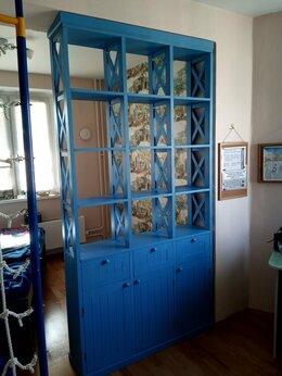 Стеллажи и этажерки - стеллаж перегородка для дома квартиры, 0