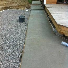 Строительство - Отмостка вокруг дома, площадка, стяжка пола., 0