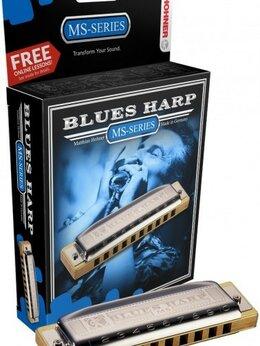 Губные гармошки - Hohner M533016X Blues Harp 532/20 MS C - Губная…, 0