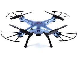 Квадрокоптеры - Р/У квадрокоптер Syma X5HW (голубой) с FPV…, 0
